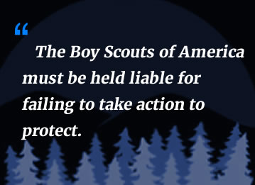 Boy Scouts Must be Held Liable